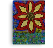 A Genetically Modified Blossom Canvas Print