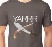 """YARRR"" Flintlock and Steel Unisex T-Shirt"