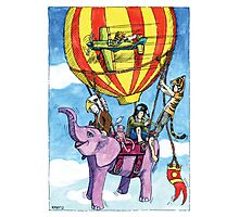 KMAY Hoodkids Balloon Ride Photographic Print