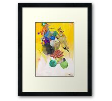 Square Wave Phoenetics Framed Print