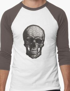 Famous Skull Men's Baseball ¾ T-Shirt