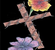 Blossoming Cross by Headstrong