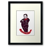 Winchesters' bacon Framed Print