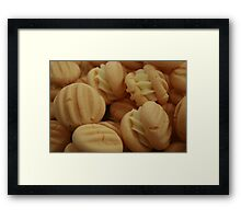 My Yo Yo Biscuits Framed Print