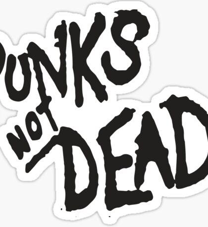 PUNK IS NOT DEAD Sticker