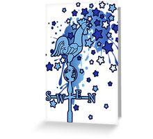 Weather_Vane Greeting Card