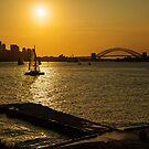 Sunset Sailing by Jason Ruth