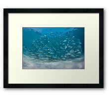 The Bang Framed Print