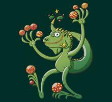 Christmas Iguana by Zoo-co