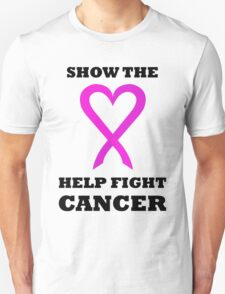 Show the LOVE Cancer 01BL T-Shirt