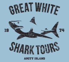 Great White Shark Tours (worn look) by KRDesign