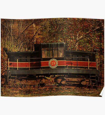 Catskill Mountain Railroad Engine 29 Poster