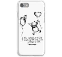 Quote Of Love iPhone Case/Skin