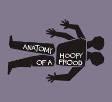 Anatomy of a Hoopy Frood Kids Tee