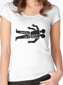 Anatomy of a Hoopy Frood Women's Fitted Scoop T-Shirt