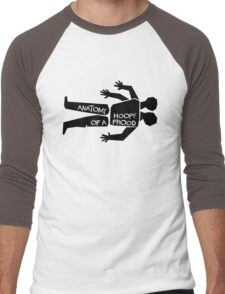 Anatomy of a Hoopy Frood Men's Baseball ¾ T-Shirt