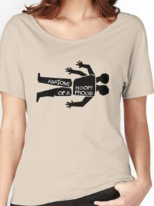 Anatomy of a Hoopy Frood Women's Relaxed Fit T-Shirt