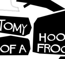 Anatomy of a Hoopy Frood Sticker