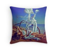 In the morning they arise Throw Pillow