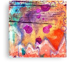 Love + Light for the Holidays Canvas Print