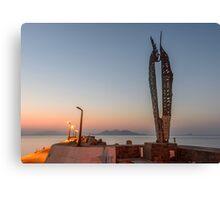 ikaria, the island of Icarus Canvas Print