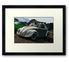 surfers bug Framed Print