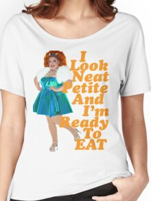 Neat, Petite & Ready To Eat! Women's Relaxed Fit T-Shirt