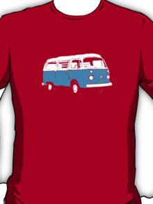 New Bay Campervan Blue T-Shirt