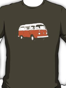 New Bay Campervan Orange T-Shirt