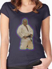 Vladimir Putin Judo Rainbow Women's Fitted Scoop T-Shirt