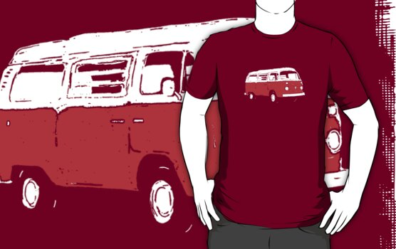 New Bay Campervan Red by Ra12