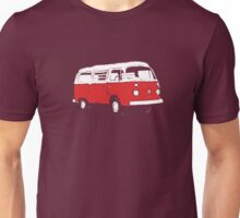 New Bay Campervan Red Unisex T-Shirt