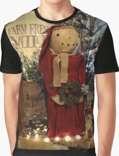 Country Christmas Crafts 2 Graphic T-Shirt