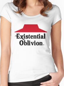 Existential Oblivion Women's Fitted Scoop T-Shirt