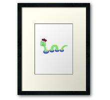Loch Ness Monster Framed Print