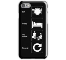 Eat Sleep The Office Repeat iPhone Case/Skin