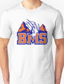 BMS Blue Mountain State Goat Logo T-Shirt