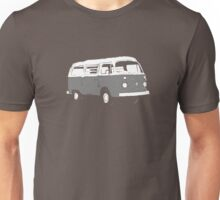 New Bay Campervan Grey Unisex T-Shirt