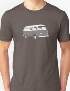 New Bay Campervan Grey T-Shirt