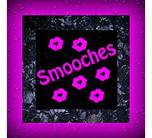Smooches Photographic Print