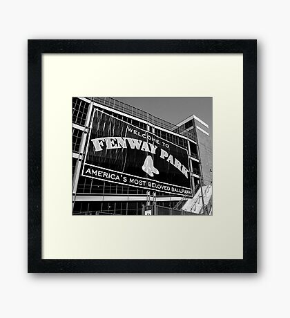 Boston Framed Print