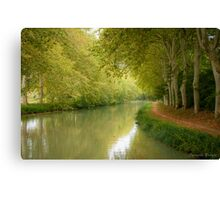 Canal du Midi 11 Canvas Print