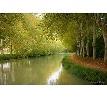 Canal du Midi 11 Photographic Print