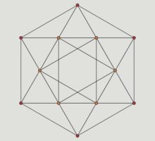 24 Cell Graph D4 by cadellin