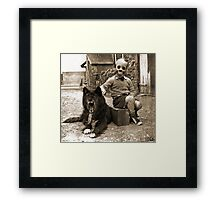 friendship Framed Print