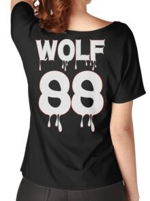♥♫WOLF 88-Splendiferous K-Pop EXO Clothes & Stickers♪♥ Women's Relaxed Fit T-Shirt