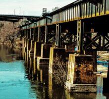Bridge Over Troubled Waters Sticker
