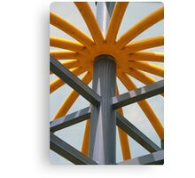 Painted Playground Equipment Canvas Print