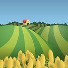 Corn Field by chubbyblade