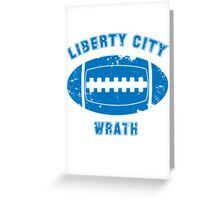 Liberty City Wrath Greeting Card